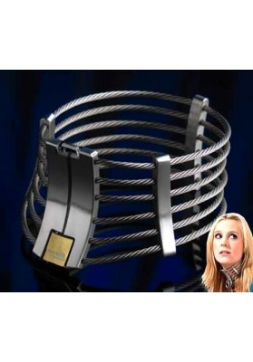 120*130mm Stainless Steel Neck Collar Adult Slave Role Play Metal Collar For men and women Sex Toys for couple adult games