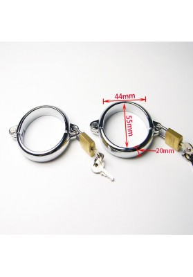 44*55mm,240g metal handcuffs metal erotic handcuffs collar cuffs hand sex erotic games for couples cuff sexy adult games