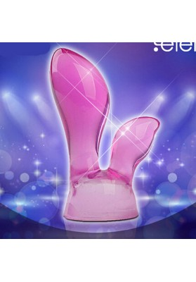 Silicone AV Rod Vibrator Accessories AV Massager Head Caps Magic Wand Attachments Clitoris Sex Toys Sex Products for Women