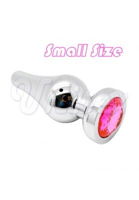 ( Small Size )Silver Stainless Steel Solid Metal Butt plug Insert Anal Sex Toys Anal Plug, Adult Sex Toys Unisex Sex Products