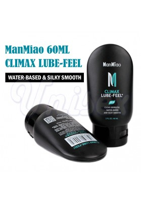 60ML ManMiao Non-toxic Silky Smooth Water-based Climax Lube-feel Clear Odorless Lubricants & Erotic Massager Oil for Couple