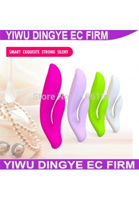 100% Silicone Jack Rabbit Big Dildo Vibrators for Women Erotic Products Adult Sex Toys  Body AV Massager