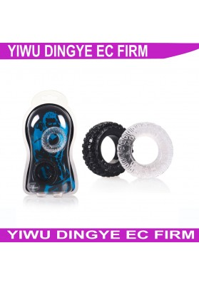 2015 New arrival Wheel Lock delay ring Sex Product for Men' s Penis Cock Rings