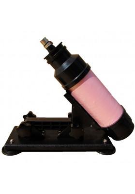 AutomaticSex Machine Gun 3.3 cm Retractable  Masturbation Gun Men  Women Simulating Sexual Vibrator Adult Toy  with Fixed Sucker