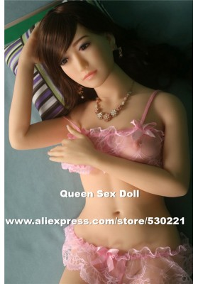 Top quality 153cm full size sex doll full silicone, solid silicone love dolls, oral anal sexy doll, artificial vagina pussy doll