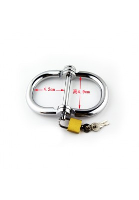 42*49mm Metal handcuffs femal cuffs restraints erotic games for couples adult sex product hand cuffs for women