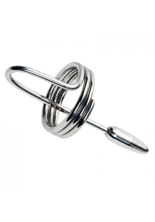 8*70mm stainless steel urethral sound penis plug Prince Wand urethral dilatator sex toys for men Sex Products Catheter Sounds