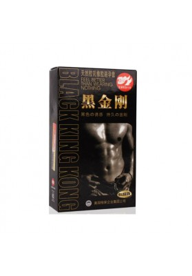 10PS/lot  Black  Delay Condoms,  Natural Latex Condoms, Sex  Products for Men Adult Sex Toys