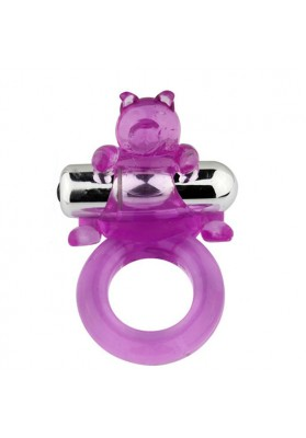 7 Mode Vibration  Waterproof  Vibrator Cockring, Sex Products Cute Bear Rings  For Men Penis,Best Sex Toys