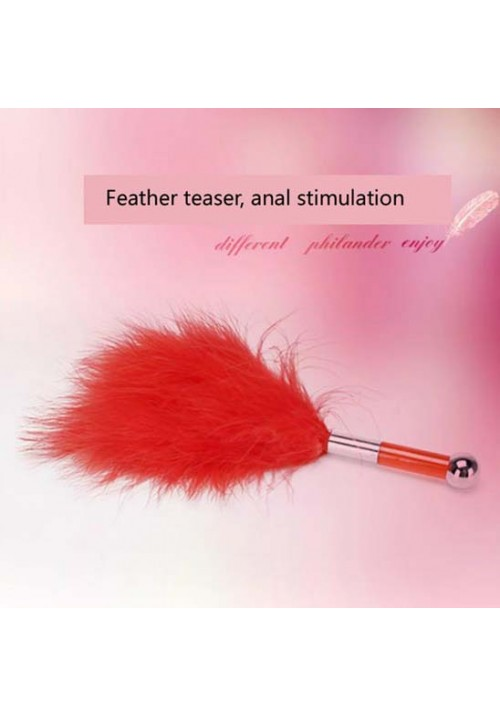 Adult Sex Toy Games Products Toys Feather Wand Sexy Toy for Couples,S&M Feather Tickler,Anal Feather Stimulator