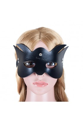 Black Cat Blindfold Halloween Props Sexy Eye Mask Bondage Restraints Party Eye Patch Sex Products Adult Game Sex Toys for Couple