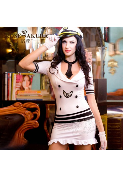 2015 new fashion women's sexy navy costumes with all accessories  underwear erotic apparel dress for female fantasy lingeries