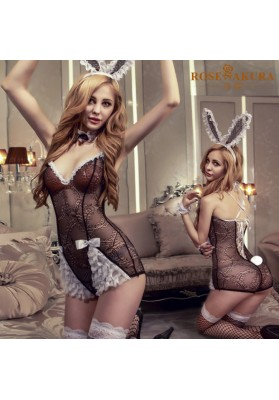 Sexy costumes erotic lingerie Bunny costume exotic dress for women bunny rabbit uniforms sexy lingerie role play sexy underwear