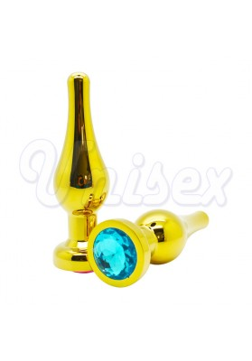 Enticing Golden Stainless Steel Butt plug Insert Metal Anal Plug Anal Sex Toys, Adult Sex Toys Unisex Sex Products