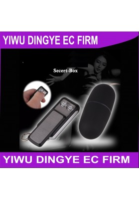 2015 New 50 Speed Wireless Remote Control Egg and Bullet Vibrator Sex Toys for Women