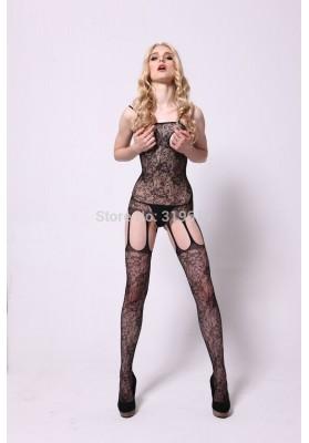 2015 HOT sexy lingerie Women Sexy Lingerie Lace Underwear Black Babydoll Sleepwear