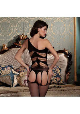 2015 Sexy Lingerie Bodysuit  Hot Sexy Women Black Lace New Lingerie Nightwear Underwear Crotchless Bodystocking