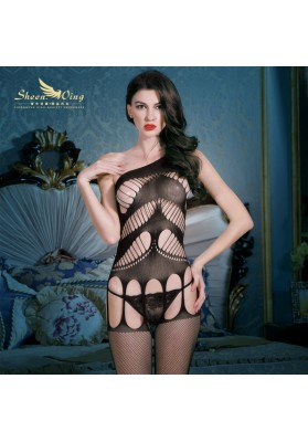 2015 Sexy Lingerie Women's Solid Sexy body suit, sexy Baby Doll, Fishnet body stocking