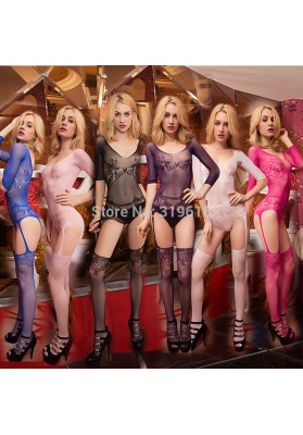 Bodystocking  Sexy Dress Sexy Lingerie Bodysuits Sexy Fishnet Open Crotch Lingerie