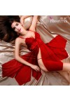 High Quality Luxury Embroidery Sexy Sleepwear Women Baby doll Sexy Costume  Crothless Sexy Lingerie lenceria sexy