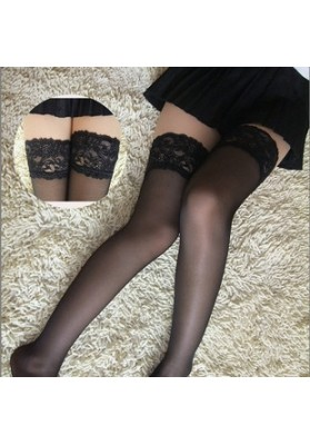 Sexy lace decoration stockings sexy stockings