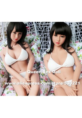 Top quality 135cm lifelike silicone sex dolls with skeleton, oral sex love doll, japanese real adult doll vagina real pussy anal